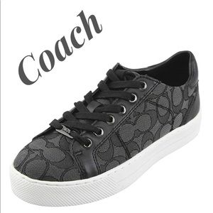 COACH 🖤 Paddy Low Top Lace Up Fashion Sneakers